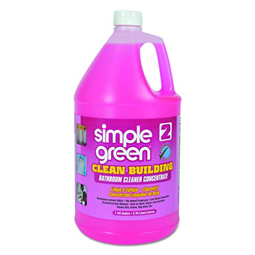 Simple Green 11101 Clean Building Bathroom Cleaner Concentrate, Unscented, 1gal Bottle from Simple Green