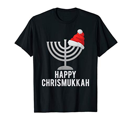 Happy Chrismukkah Funny Hanukkah and Christmas Gift T-shirt