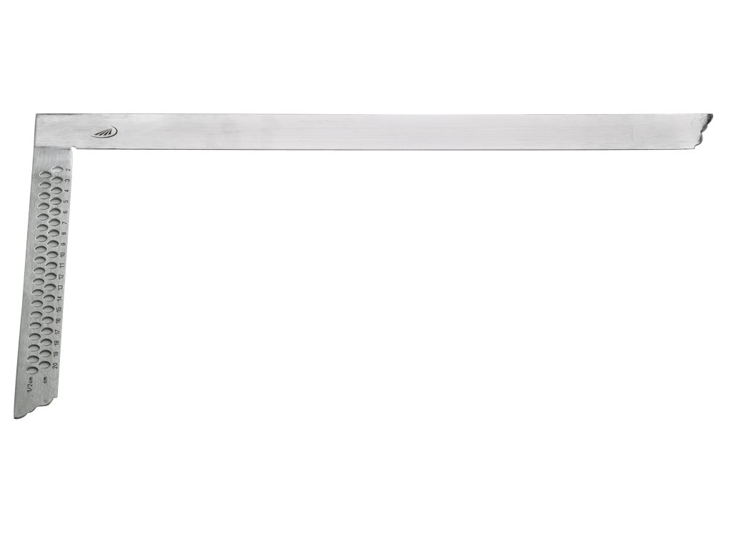 Helios Preisser de 0396454//Équerre de charpentier avec trous de marquage 700/x 300/mm