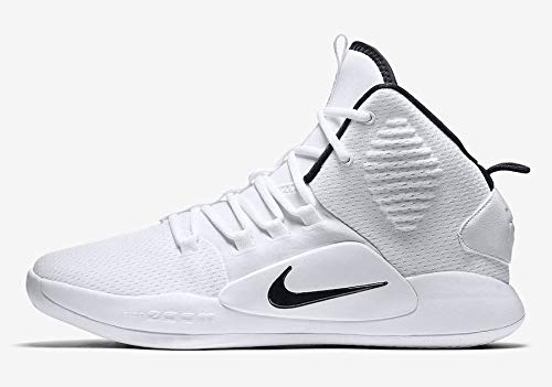 Nike Men's Hyperdunk X Team Basketball Shoe White/Black Size 11 M US