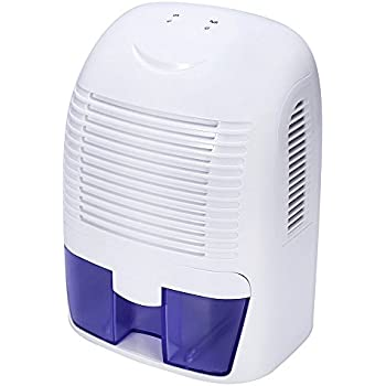 Kedsum electric small dehumidifier with 50 oz capacity 2200 cubic feet 270 sq ft for Small dehumidifier for bedroom