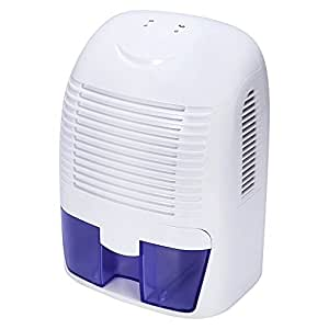 KEDSUM Electric Small Dehumidifier with 50 oz Capacity, 2200 Cubic Feet (270 sq ft) for Home, Bathroom, Bedroom, Kitchen, Closet, Basement, Attic, Boat, Ultra Quiet Thermo-Electric Dehumidifiers