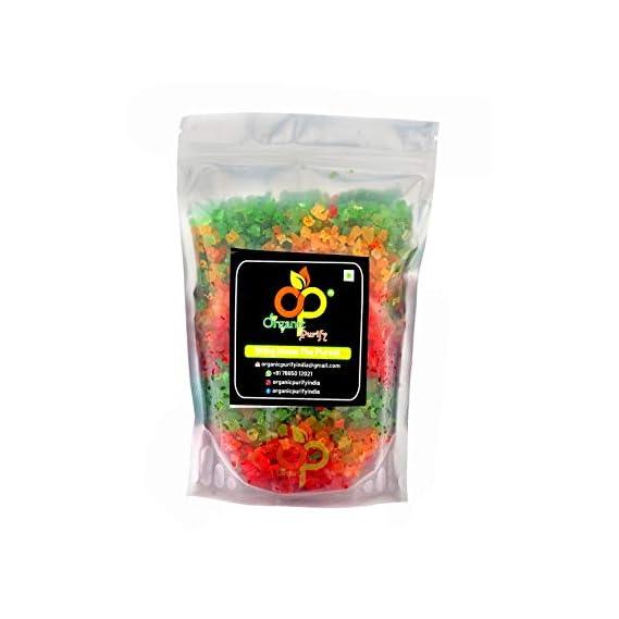 Organic Purify Mix Tutti Frutti(Multi Colour) Cherries 1.8KG