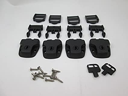 Amazon.com: (4) Nexus Spa Hot Tub Cover roto Latch Kit de ...