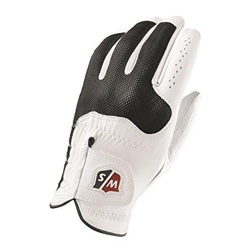 Wilson Sporting Goods Staff Conform Golf Glove, White, Large, Left Hand