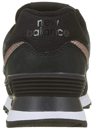Nubuck 574v2 Champagne Metallic Black Trainers Black New Balance Women's gHqEwqf8
