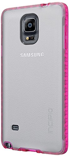 Matte Frost Combs - Samsung Galaxy Note 4 Case, Incipio [Clear] Octane Case for Samsung Galaxy Note 4-Frost/Neon Pink