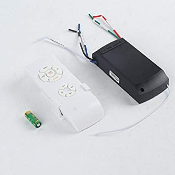 Ventilador de techo universal, con mando a distancia, 110-240 V ...