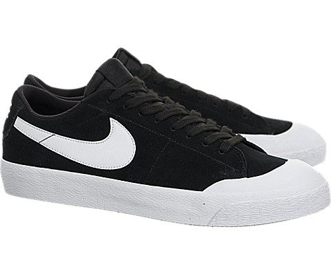 NIKE Men's SB Blazer Zoom Low XT Skate Shoe (8 D(M) US, Black/White-Gum)