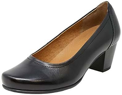 WIDE STEPS Cyrus Women Shoes,Black Glove,7 US
