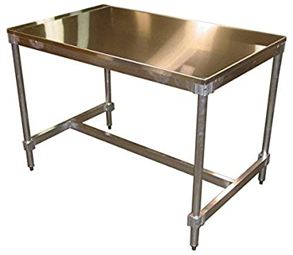 1 pieces Table Frame Stainless Steel TR 80x20 600 sub frame runners Table Base