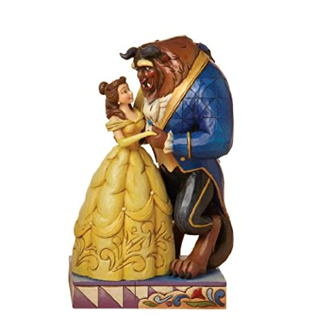 Disney Traditions designed by Jim Shore for Enesco From Beauty and theBeast Figurine 6.25 IN (Disney Traditions Beast)