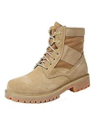 Unisex retro leather Hiking , combat, timberland boots