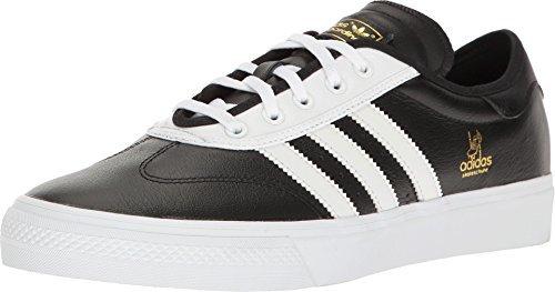 adidas Men's Adi-Ease Universal ADV Black/White/Gold Metallic Athletic Shoe