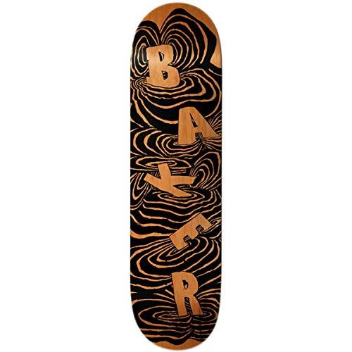 "Baker Kader Swirls Skateboard Deck - 8.125"""