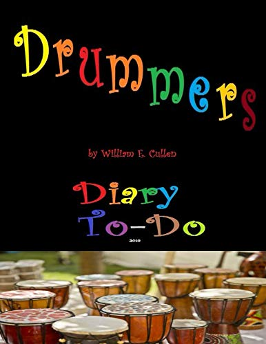 Drummers: Diary To-Do 2019 ()