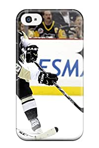 Iphone 4/4s Pittsburgh Penguins (101) Print High Quality Tpu Gel Frame Case Cover