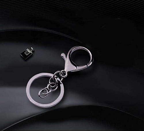 anneau de 25 mm Anlising Lot de 20 porte-cl/és avec porte-cl/és et petites fermoirs rotatifs amovibles pour porte-cl/és Mousqueton Porte-cl/és cosm/étique et bijoux