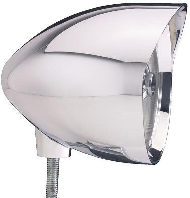 Headwinds 1-4500MLCA 4-1/2 Concours Mariah Bullet Spotlight Smooth Smooth Chrome Plated for Harley-Davidson (Mariah Bullet)