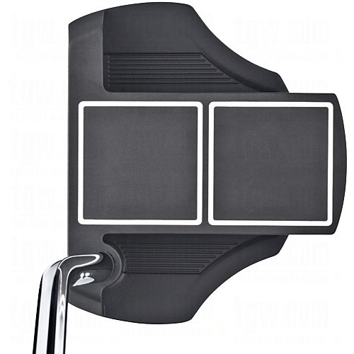 Cleveland Golf Men's Smart Square Heel Shafted Mallet Putter, Black, Right Hand, 35-Inch