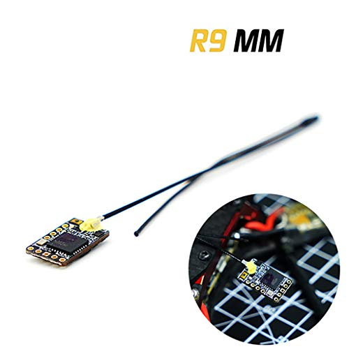 (R9 MM Long Range Receiver Inverted S.Port Compatibility for FPV Quadcopter Premium Portable Easy Install UAV Part Pro by SMOXX)