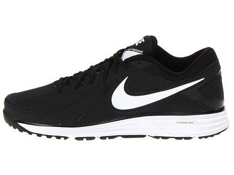 san francisco 60253 74b82 Amazon.com   Nike Men s LUNAR MVP PREGAME Shoe (16 D(M) US, Black Black White)    Fitness   Cross-Training