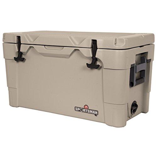 Igloo New (Igloo 49133 Sportsman Cooler, 55-Quart, Tan)