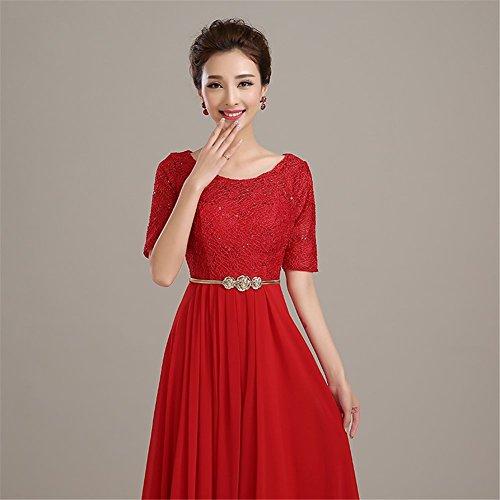 Kleid Damen Empire Drasawee Kleid Rot Drasawee Damen Drasawee Empire Rot tOFqpxwq