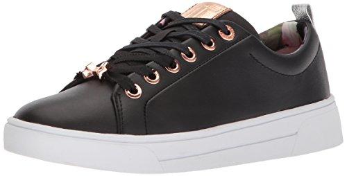 Ted Baker Women's Kellei Sneaker, Black, 7.5 B(M) US