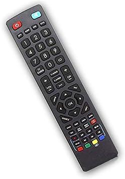 Compatible Technika - Reemplazo Mando a Distancia para televisor (Modelos específicos): Amazon.es: Electrónica