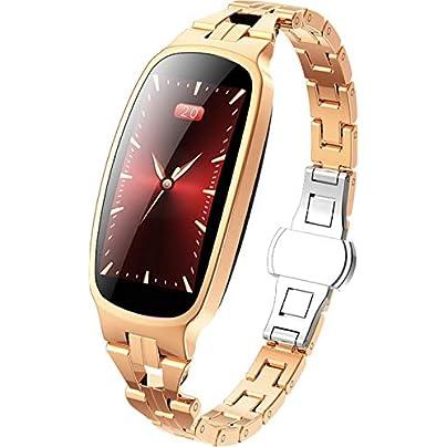 DMMDHR Fashion Smart Watch Women IP67 Waterproof Heart Rate Monitor Fitness Bracelet Smartwatch Women Smart Band Wristband Estimated Price £120.00 -