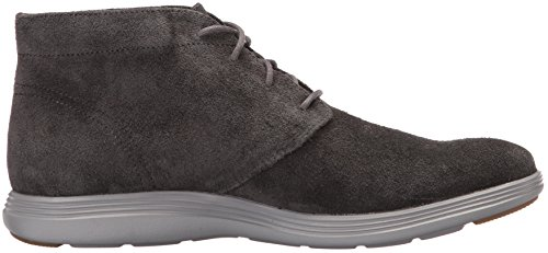 Cole Haan Hommes Grand Tour Chukka Boot Midnight Gris Daim / Aimant