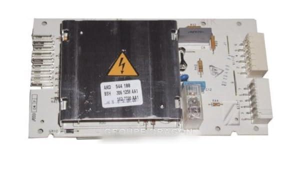 Siemens - Módulo electrónico Ako 3061258 AA1 para Lava Ropa ...