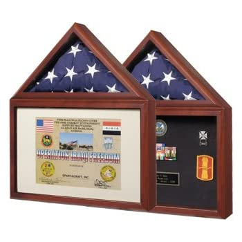 Amazon.com - Capitol Flag Case with Certificate/Shadow Box with ...