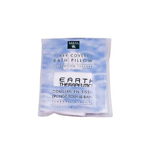 Earth Therapeutics Terry Covered Bath Pillow - 4