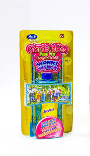 Seen Tv Toys (Wonki Wands Giant Bubble Wand Toy - Big Soap Bubble Outdoor Fun)