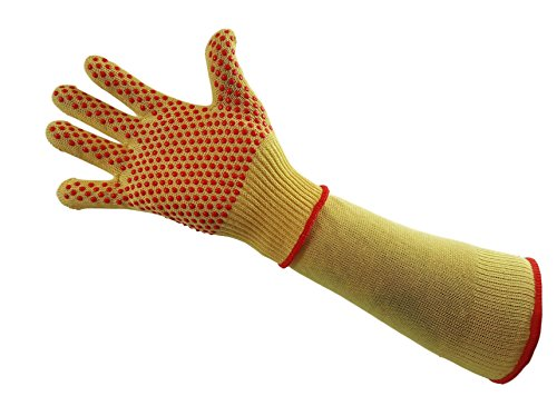 - Cut Resistant Gloves and Sleeves Level 5 protection safety protection yellow