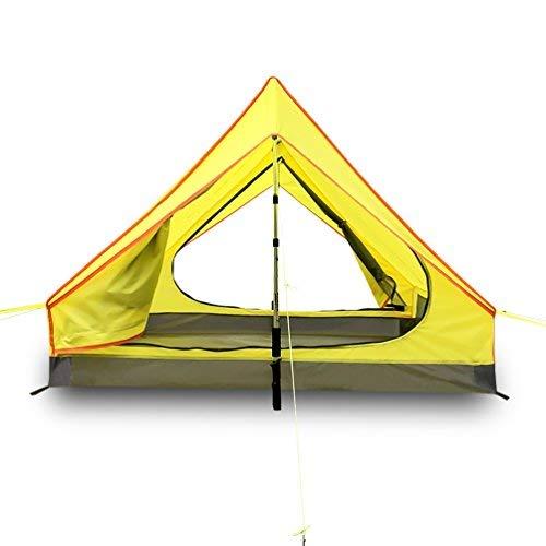 Survivalist Ultralight 2 person [並行輸入品] Tent-Alpenstock Tent for Backpacking Camping Hiking Hiking Waterproof A frame Lightweight 2 Men Tent-Alpenstock Excluded [並行輸入品] B07R4TN7SH, カワヒガシマチ:7093a15a --- ijpba.info