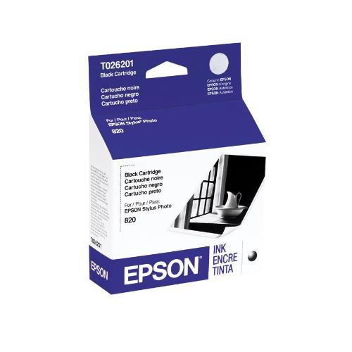Epson T026201 OEM Ink - Stylus Photo 820 925 Black Ink 37...