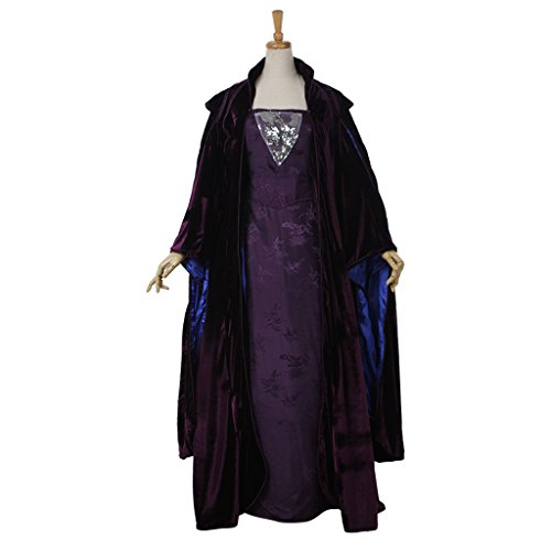 CosplayDiy Women's Dress Set for Star Wars Queen Padme Amidala Cosplay L (Star Wars Queen Amidala Costume)