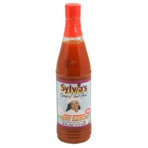 Sylvias B87114 Sylvia Triple Hot Sauce -12x6oz