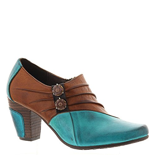 Spring Step Joella Ankle Boots - Turquoise 36, Turquoise