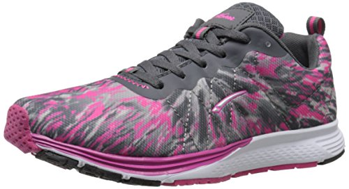 LA Gear Women's Cotton Running Shoe - Fuchsia Print - 7.5...