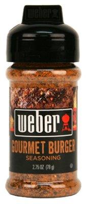 Weber Grill Seasoning Gourmet Burger, 2.75-Ounce