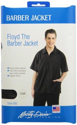 Barber Jacket, Black, L ()