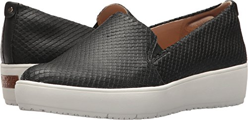 Dr. Scholl's Women's Bradyn - Original Collection Black Snake Print Leather 6.5 M (Black Snake Print Leather)