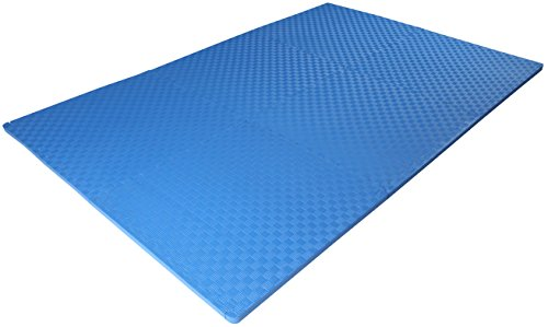 """BalanceFrom 1"""" Extra Thick Puzzle with EVA for MMA, Gymnastics and Gym Flooring"""
