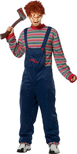 [Costume Culture Boy's Chucky Adult Standrad, One Size] (Chucky Costumes For Children)