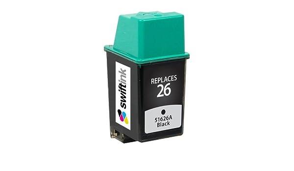 Cartucho de tinta remanufacturado HP 51626 A: Amazon.es: Oficina y papelería
