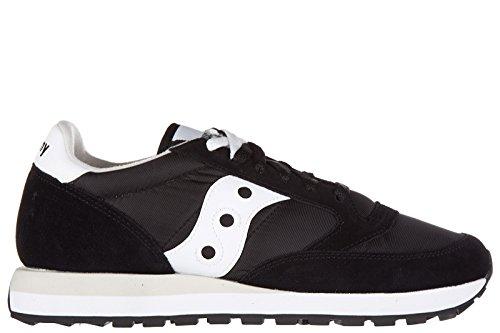 Saucony zapatos zapatillas de deporte hombres en ante nuevo jazz negro